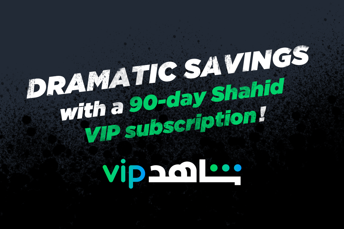 Want a 90-day VIP subscription to Shahid?